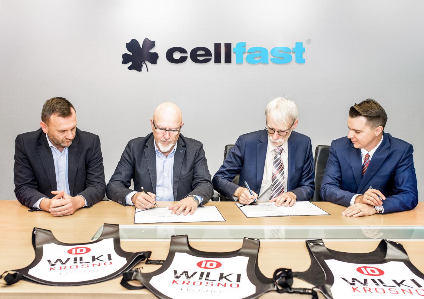 Cellfast sponsoruje Wilki