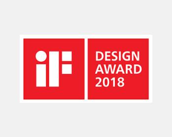 L'iF Design Award 2018 pour la série Pastel