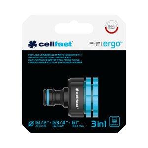 """Универсальныйадаптер с внутренней нарезкой ERGO™ G1/2"""" - G3/4"""" - G1"""""""
