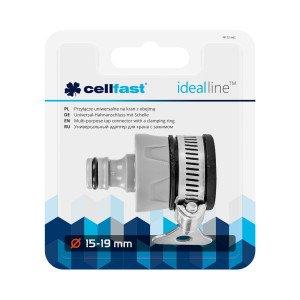 Przyłącze uniwersalne na kran z obejmą IDEAL™ 15 - 19 mm