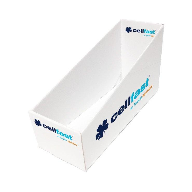 Cardboard display box for connectors