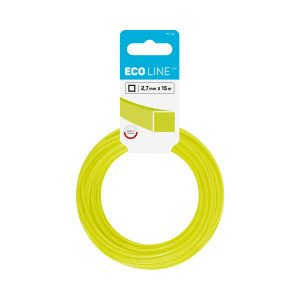 Trimmer line ECO – square 2,7 mm 15 m (49.2 ft)