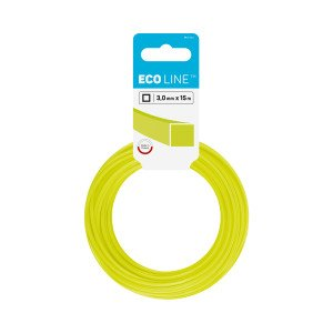 Trimmer line ECO – square 3.0 mm 15 m (49.2 ft)