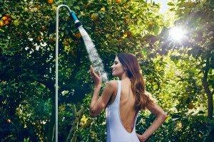 Prysznic ogrodowy z podstawą ERGO™