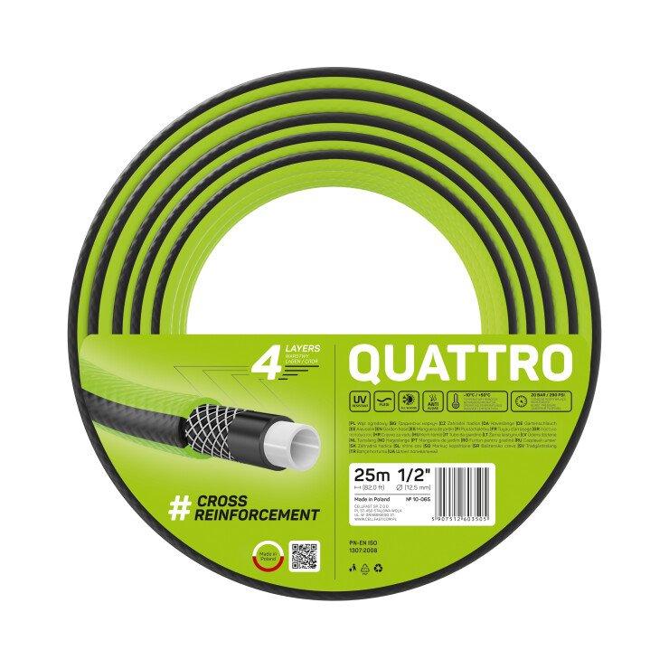 Wąż ogrodowy QUATTRO