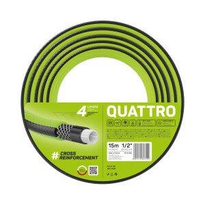 """Wąż ogrodowy QUATTRO 1/2"""" 15 m"""
