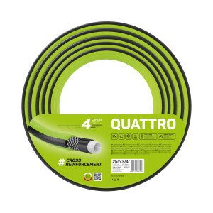 """Wąż ogrodowy QUATTRO 3/4"""" 25 m"""
