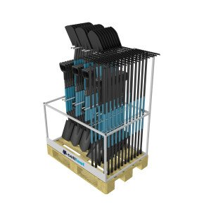 Espositore in pallet per attrezzi IDEAL PRO™