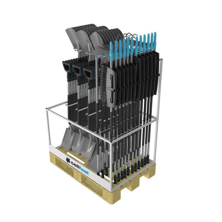 Paletowy stojak na narzędzia ERGO™