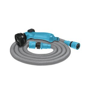 Watering set with an expandable hose BASIC